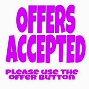 Reasonable offers only accepted